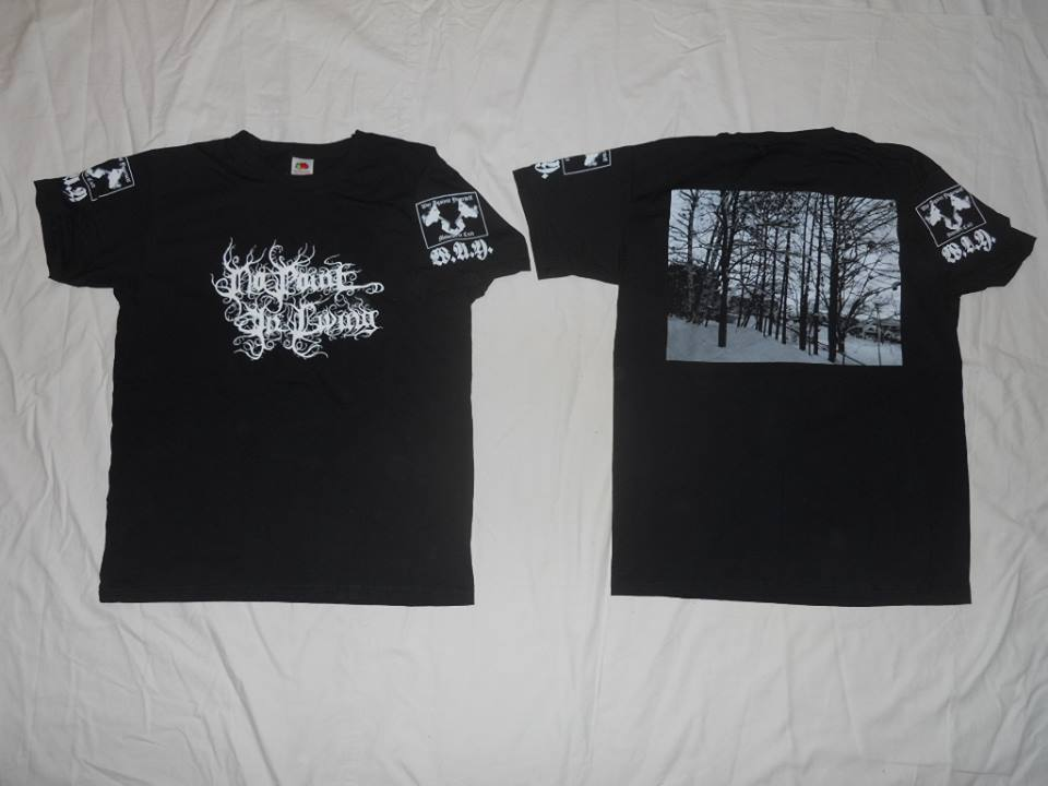 567ce475 LAST WAY SHIRT 062 No Point In Living - Official Logo Shirt (JAP) Limited to  33 copies